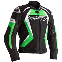 RST Tractech Evo 4 CE Textile Jacket 2365 (Black|Green|White)