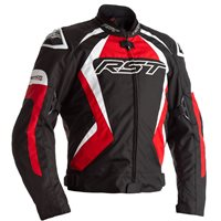 RST Tractech Evo 4 CE Textile Jacket 2365 (Black/Red/White)