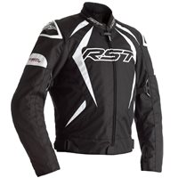 RST Tractech Evo 4 CE Textile Jacket 2365 (Black/White)