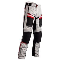 RST Maverick CE Textile Trousers 2371 (Silver/Black/Red)
