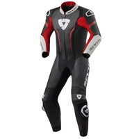 Revit One Piece Leathers Argon (Black|Neon Red)