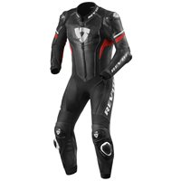 Revit One Piece Leathers Hyperspeed (Black| Red)