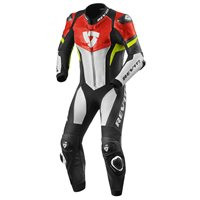 Revit One Piece Leathers Hyperspeed (Neon Red | Yellow)