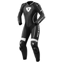 Revit One Piece Ladies Leathers Xena 3 (Black|White)