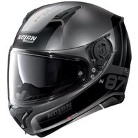 Nolan N87 Plus Distinctive N-Com Helmet (Flat Lava Grey)