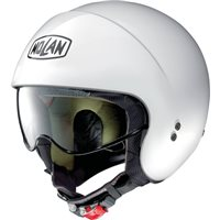 Nolan N21 Special Open Face Helmet (Pure White)
