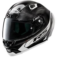 X-Lite X-803 Ultra Carbon RS Hot Lap Helmet (Carbon/White)