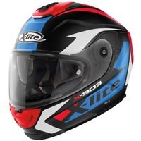 X-Lite X-903 Ultra Carbon Nobiles N.Com Helmet (Carbon/Blue/Red)