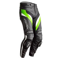 RST Tractech Evo 4 CE Leather Trousers 2358 (Black/Green)