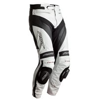 RST Tractech Evo 4 CE Leather Trousers 2358 (White/Black)