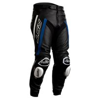 RST Tractech Evo R CE Leather Trousers 2462 (Black/Blue)