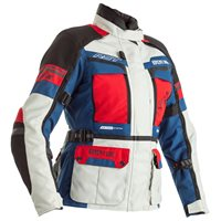RST Pro Series Adventure-X Ladies CE Jacket 2380 (Ice Blue/Red)