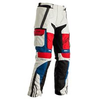 RST Pro Series Adventure-X Ladies CE Textile Trousers 2402 (Ice/Blue/Red)