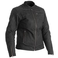 RST Ripley CE Ladies Leather Motorcycle Jacket 2465 (Black)