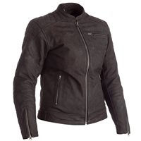 RST Ripley CE Ladies Leather Motorcycle Jacket 2465 (Brown)