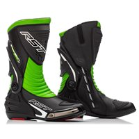 RST Tractech Evo 3 Sport CE Motorcycle Boot 2101 (Black/Green)