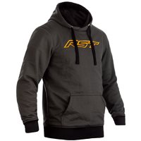 RST Pullover Kevlar CE Mens Textile Hoodie 2412 (Green/Ochre)