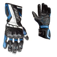 RST Axis CE Motorcycle Gloves (Black/Blue/White)