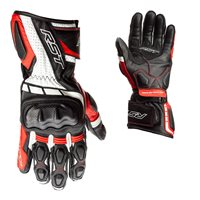 RST Axis CE Motorcycle Gloves (Black/Red/White)