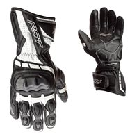 RST Axis CE Motorcycle Gloves (Black/White)