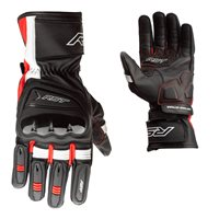 Pilot CE Motorcycle Gloves 2404 (Black/Red) by RST