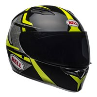 Bell Qualifier Flare Helmet (Black/Hi-Viz Yellow)