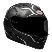 Bell Qualifier Stealth Camo Helmet (Matte Black/White)