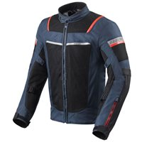 Revit Tornado 3 Textile Motorcycle Jacket (Dark Blue|Black)