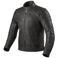Revit Leather Jacket Cordite (Black)