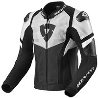 Revit Leather Jacket Hyperspeed Air (Black/White)