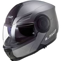 LS2 FF902 Scope Flip Front Helmet (Matt Titanium)