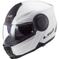 LS2 FF902 Scope Flip Front Helmet (White)