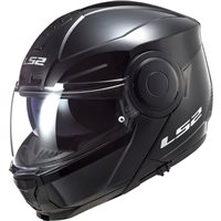 LS2 FF902 Scope Flip Front Helmet (Black)