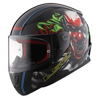 LS2 FF353 Rapid Happy Dreams Helmet (Black)