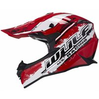 Wulfsport Off Road Pro Motocross Helmet (Red)