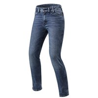 Revit Cordura Denim Jeans Victoria Ladies Slim Fit (Medium Blue)