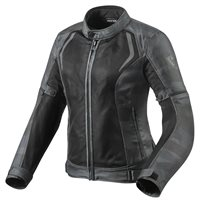 Revit Torque Ladies Motorcycle Jacket (Camo Black|Grey)