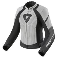 Revit Xena 3 Womens Leather Jacket (White|Black)