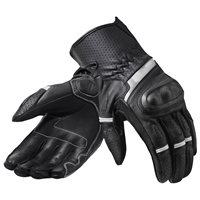 Revit Motorcycle Gloves Chevron 3 (Black/White)