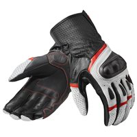 Revit Motorcycle Gloves Chevron 3 (White/Red)