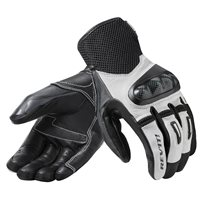Revit Motorcycle Gloves Prime (Black/White)