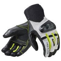 Revit Motorcycle Gloves Prime (White/Yellow)