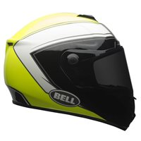 Bell SRT Phantom Helmet (Hi-Viz Yellow/Black/White)