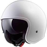 LS2 OF599 Spitfire Open Face Helmet (White)