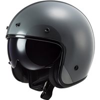 LS2 OF601 Bob Open Face Helmet (Nardo Grey)