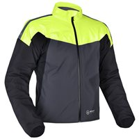 Oxford Rainseal Pro Over Jacket (Grey/Black/Yellow)
