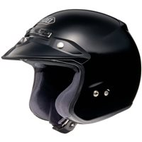 Shoei RJ Platinum-R Open Faced Helmet  (Matt Black)