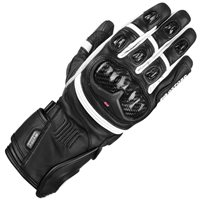 Oxford RP-2R Waterproof Motorcycle Gloves (Black/White)