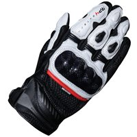 Oxford RP-4 2.0 Short Motorcycle Gloves (Black/White)