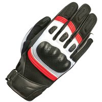 Oxford RP-6S Short Motorcycle Gloves (Black/Red/White)